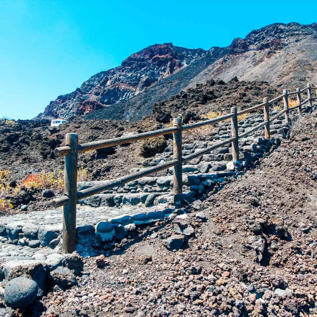Rocky hot south part of La Palma. La Palma - The Hidden Gem of the Canary Islands, article by Kiss My Backpack at https://www.kissmybackpack.com/