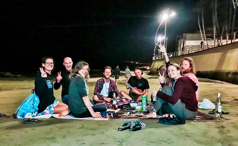 Las Palmas beach nights