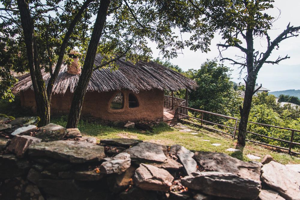 Clay house in Leshten, Bulgaria