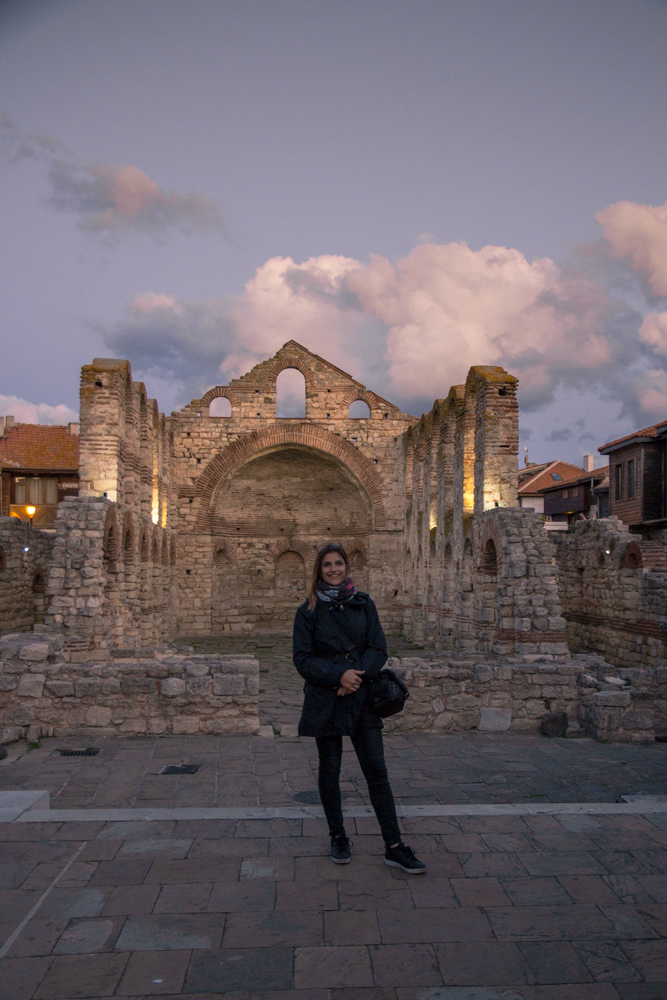 About the old town in Nesebar, Bulgaria