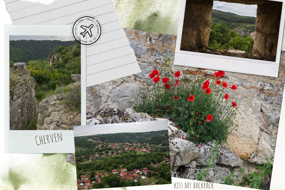 Photo collage of Cherven, Bulgaria